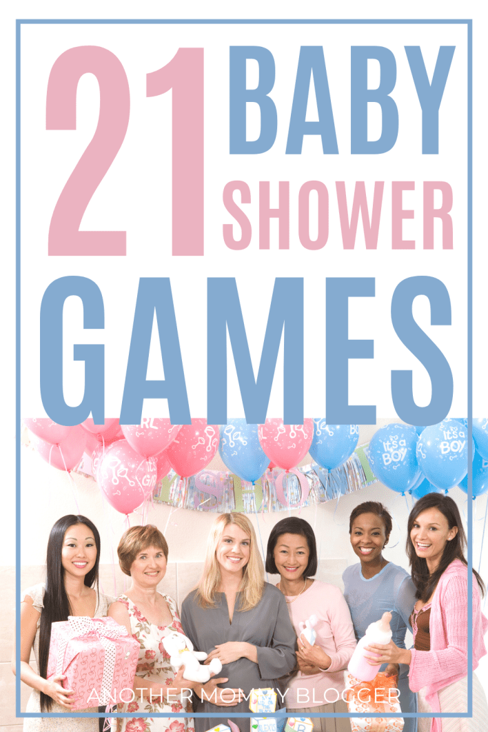 A fun baby shower needs fun party games. Choose these! #babyshower