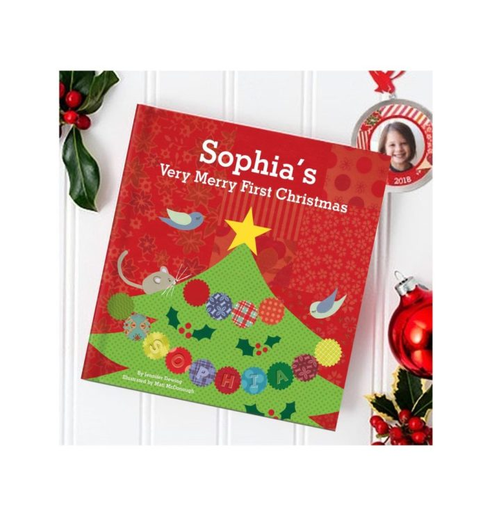 Baby's First Christmas Keepsakes Book