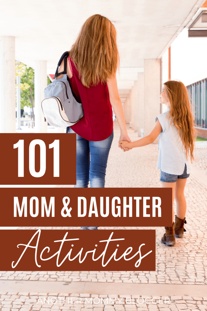 This is a list of mother and daughter activities to spend quality time together. There are many inside and outside activities for girls and their moms.