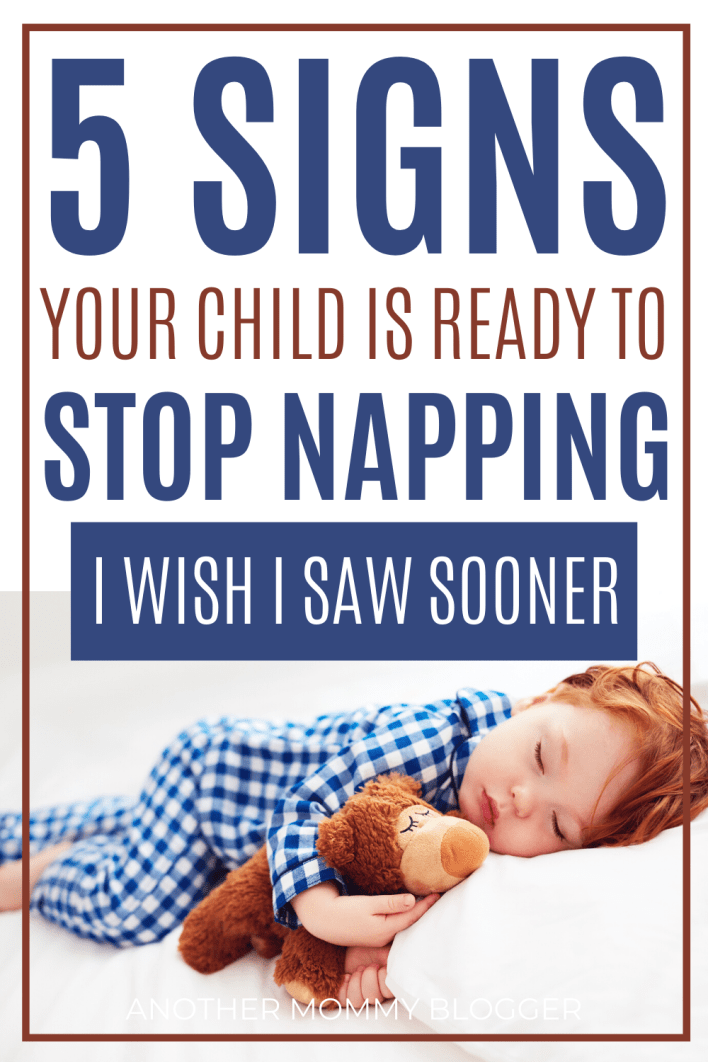 Do you know the signs and when children stop napping? Find out now and be on the look out. #toddlertips #parentinghacks