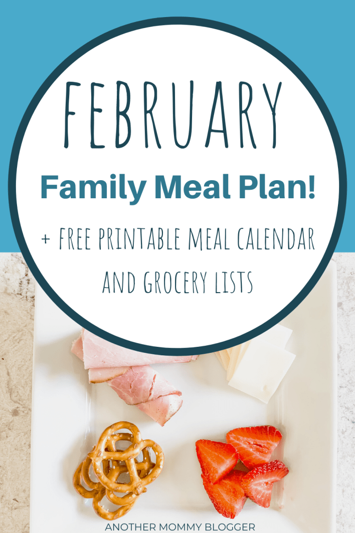 In need of toddler meal ideas? What about an entire family meal plan. Grab these healthy meal ideas for the whole family. #mealplanning #familymeals