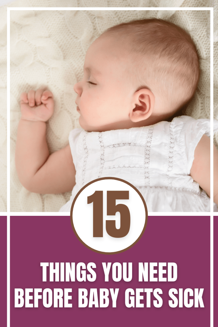 You need these sick baby remedies great. Help baby feel better and sleep better when they're sick.