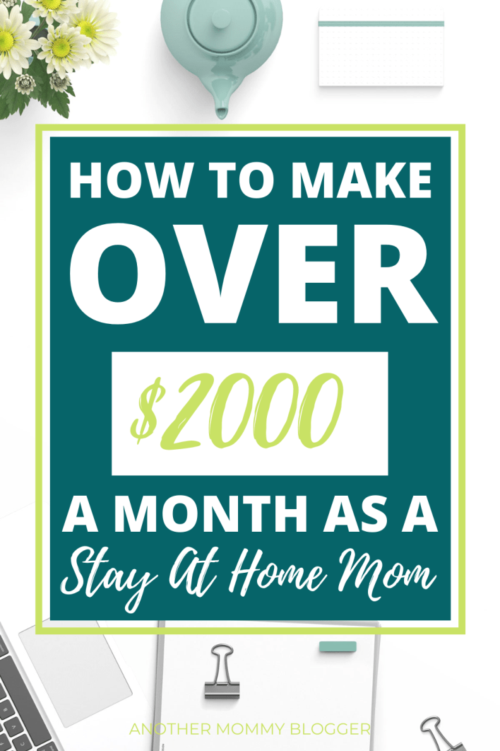 You're looking for ways to make money from home and you're tired of the scams. I get it. Look how I actually make over $2000 a month online from home. #money #blogging #incomereport