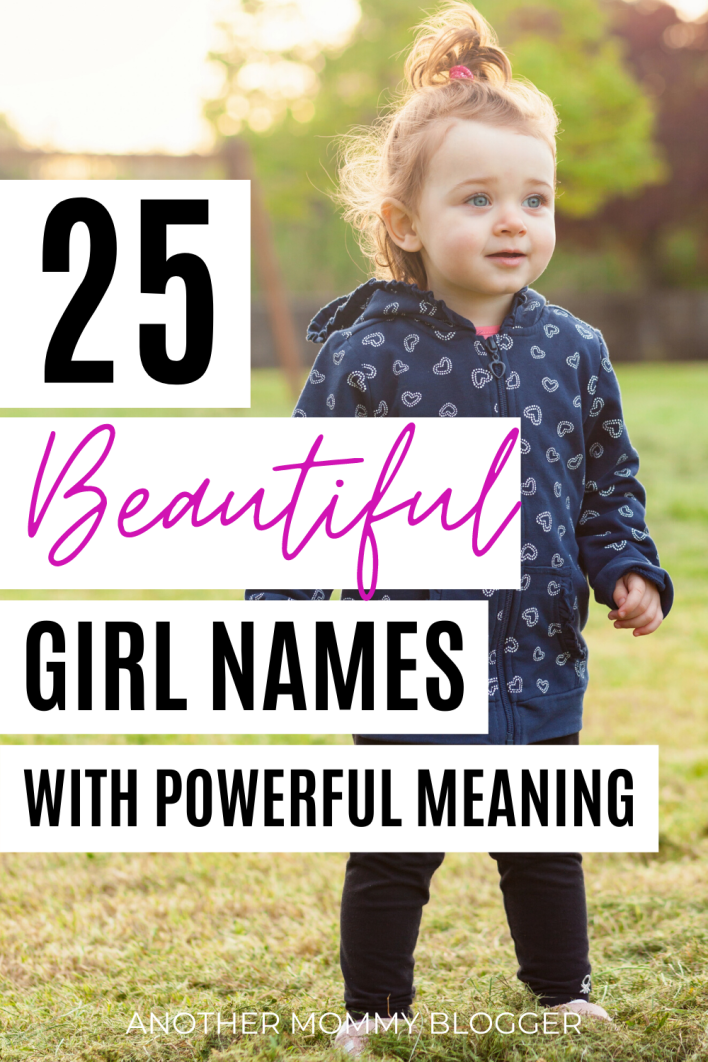Parents are falling in love with these beautiful baby girl names with powerful meanings. #babygirlnames