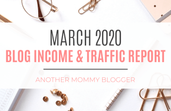 Another Mommy Blogger Blog Income And Traffic Report