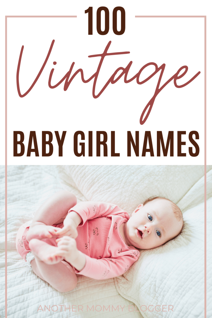 These beautiful baby girl names are old-fashioned and unique. #babygirlnames