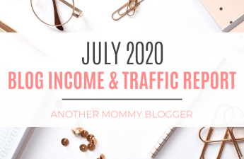 Blog Income & Traffic Report: July 2020