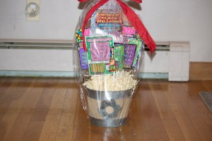 Lottery ticket bouquet baby shower prize