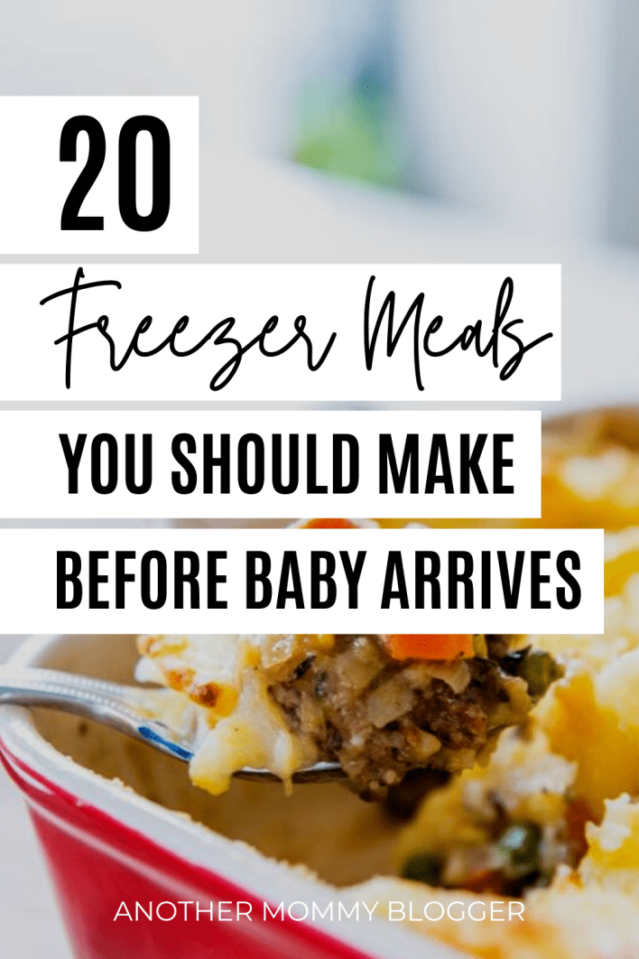 Learn how to make freezer meals and stock your freezer with these healthy make ahead recipes before your baby arrives.