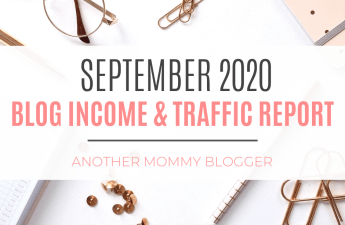 Blog Income And Traffic Report September 2020