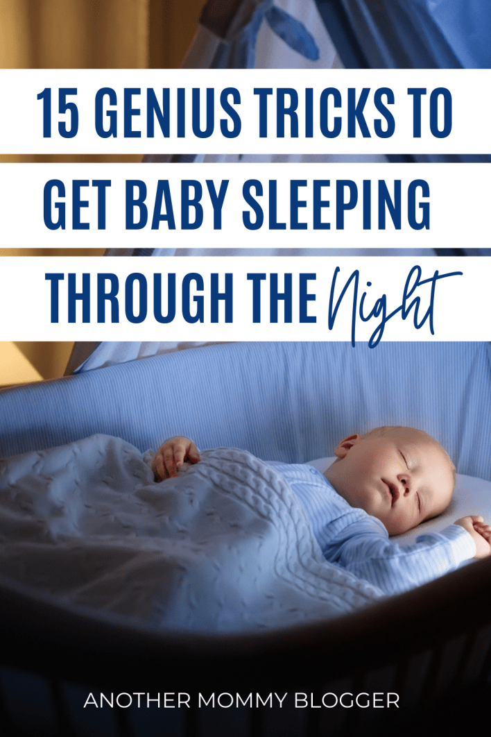 These are the best baby sleep tips out there. Use these to get your newborn baby to sleep through the night.