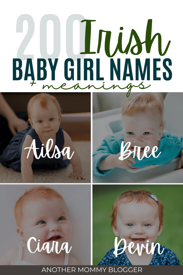 These are cute ideas for Irish girl names. These are beautiful Irish names for girls with meanings.