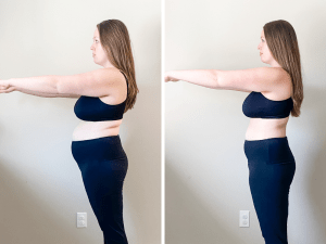 Breastfeeding weight loss before and after