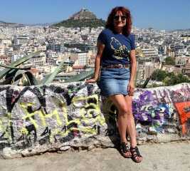 Denise in Athens