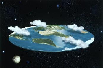 teori bumi datar vs bumi bulat