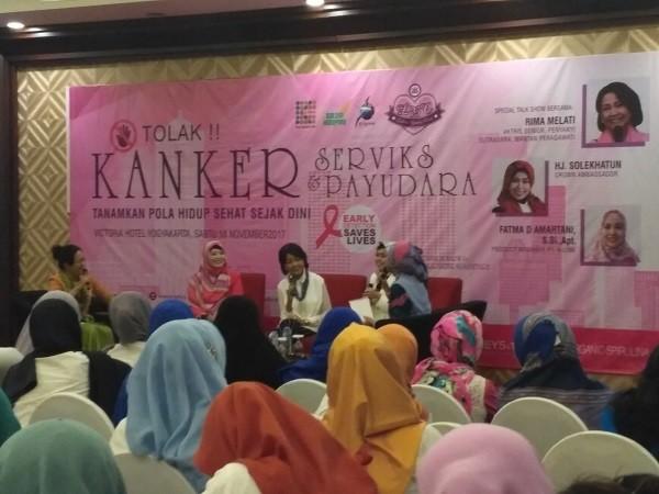 seminar kanker serviks dan kanker payudara