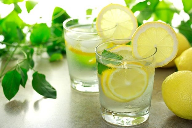resep minuman lemon tea