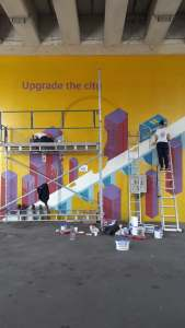 George Street gallery Graffete mural