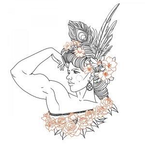 Strongwoman portrait