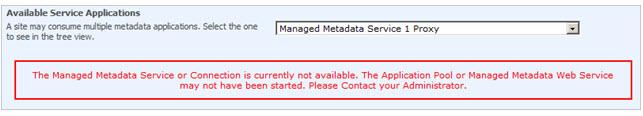 managedmetadata