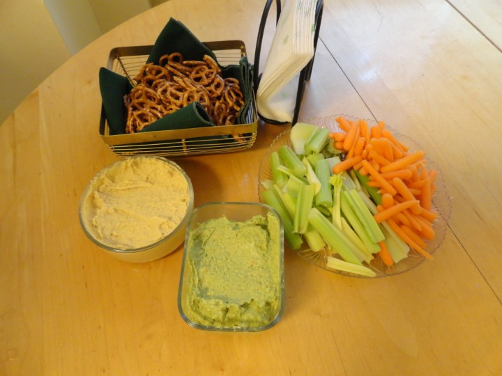 Hummus-lovers Anonymous (a post by Molly)