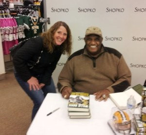"I saw Mr. Davis on Saturday at a book signing for ""Closing the Gap,"" his new autobiography. While I haven't read it yet, I'm sure it will make an excellent gift for the Packer fan on your list."