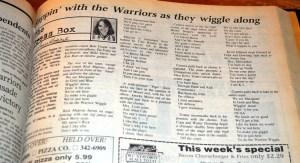 warrior wiggle