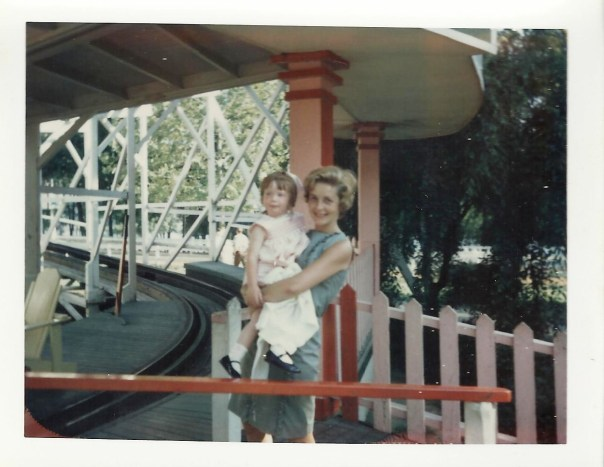 This is my mom and me at Coney Island in 1965.