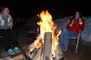 "Thorough once said, ""The fire is the main comfort of the camp, whether in summer or winter, and is about as ample at one season as at another. It is as well for cheerfulness as for warmth and dryness."" Having spent the better part of a winter evening staring into a fire, I have to say I agree,"