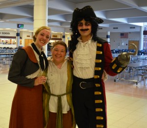 A Peter Pan, Captain Hook and the Story Teller