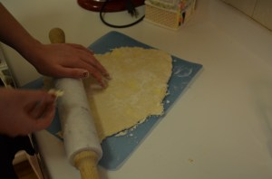 First test of the rolling pin!