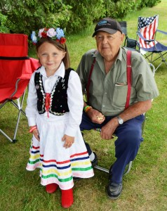 I love this picture of this little girl and her Polish grandpa because she's adorable and he reminds me of my Polish grandpa.