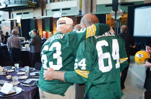 Fuzzy and Jerry Kramer