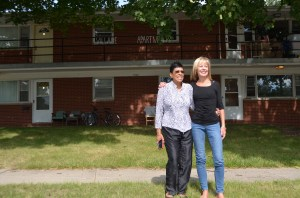 Ruth, Vicky and the Village Apartments