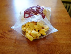 We had to pick up a fresh bag of cheese curds for research purposes, don't you know. We can report that they still offer squeaky, delicious fun.