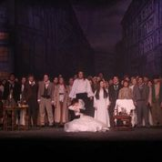Mr. Hartman made Victor Hugo's paintings come to life as the backdrop for Phantom.