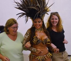 I danced the Samba...