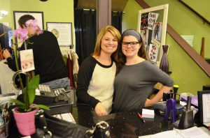 Small Business Saturday Kirten and Colleen
