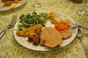 Croatian dinner my plate