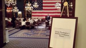 George Washington Dinner