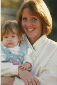 This is 25-year old me with my sweet baby girl back in 1989.