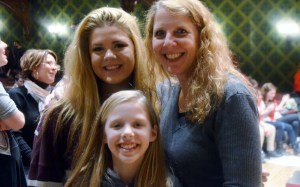This is me with Olivia and her oldest sister Hannah (my goddaughter) at the ACCA semi-finals in Chicago.