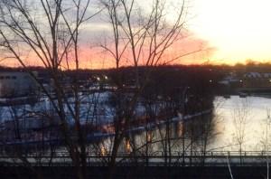Optimistic sunset