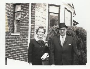 Grandma and Grandpa Fey