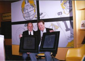 Dad and Zeke Bratkowski