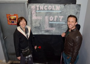 Donna and Vinnie at the Lincoln Loft