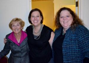 Mom, Melissa, Jenny