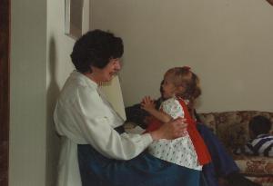 Katherine and Grandma Mary Jane