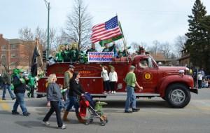 Southside Irish fire truck
