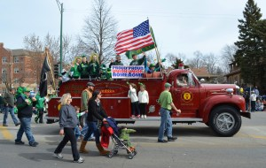 Southside Irish fire truck